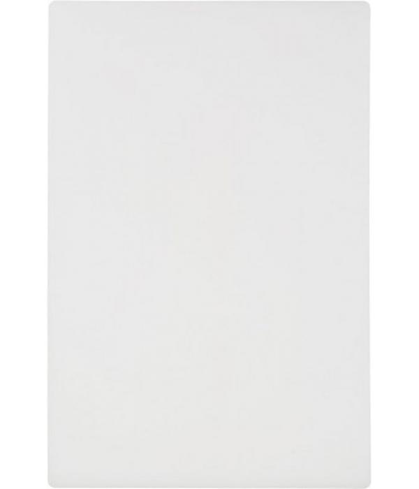 Доска разделочная 450х300х12 мм, белая