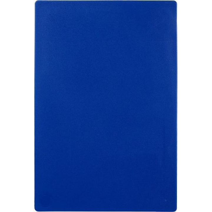 Доска разделочная 450х300х12 мм, голубая