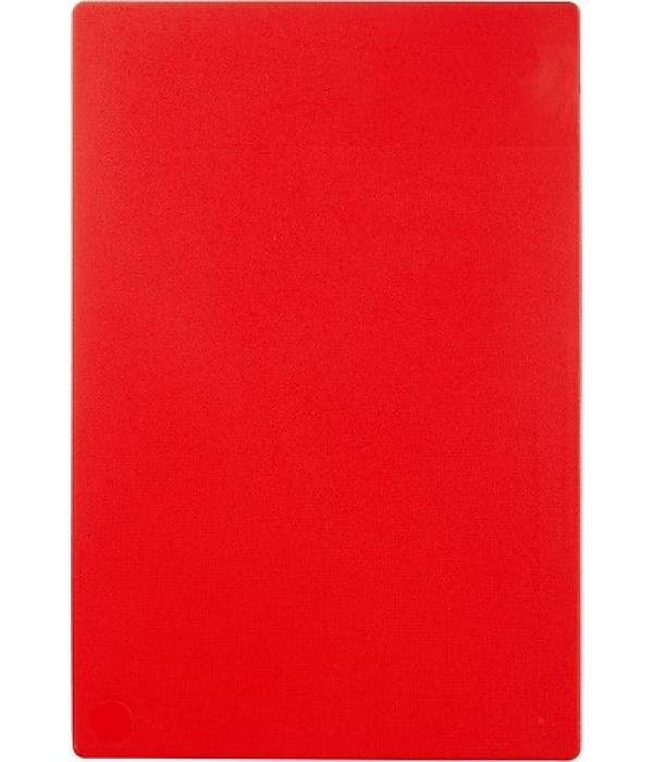 Доска разделочная 450х300х12 мм, красная