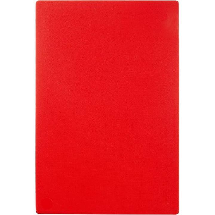 Доска разделочная 600х400х20 мм, красная