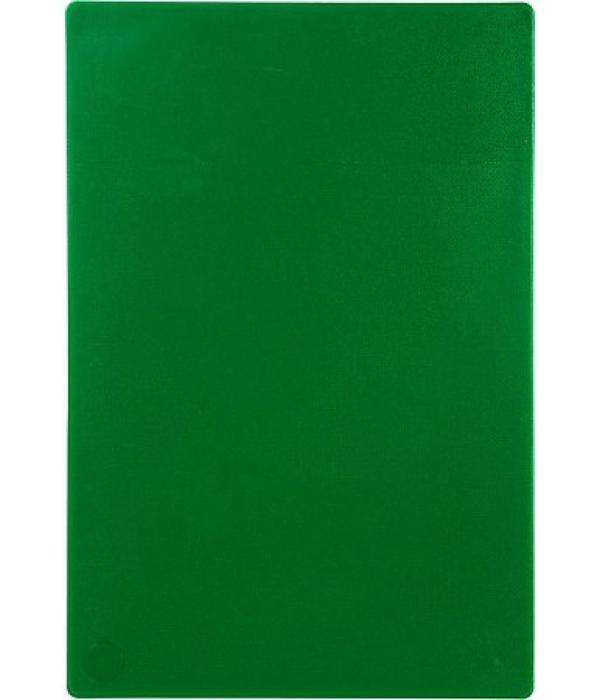 Доска разделочная 450х300х12 мм, зеленая