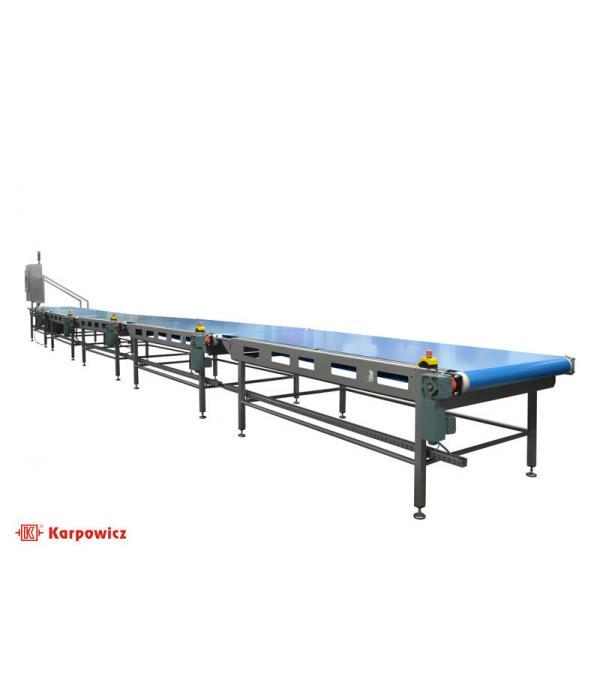 Блок прямых конвейеров для пищевых продуктов Karpowicz