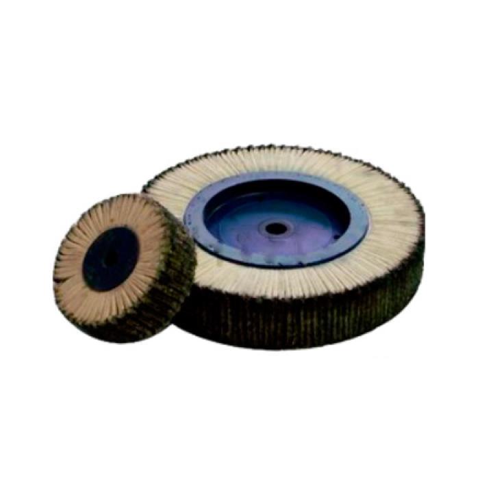 Лепестковый полировальный круг для заточного станка Knecht, 340х60х25 мм