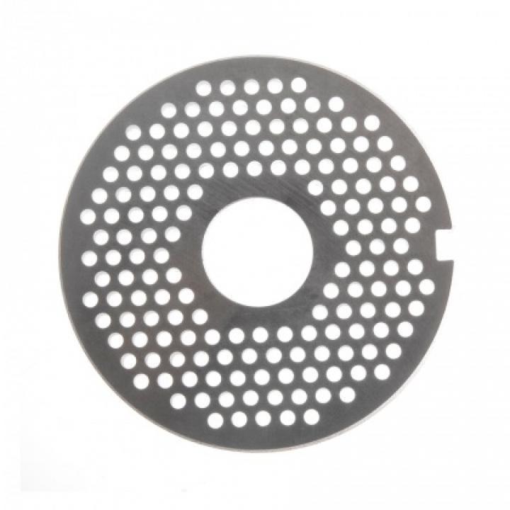 Решетка № 1 (Ø 3 мм) под бурт для мясорубок МИМ-300 / 300М / 350