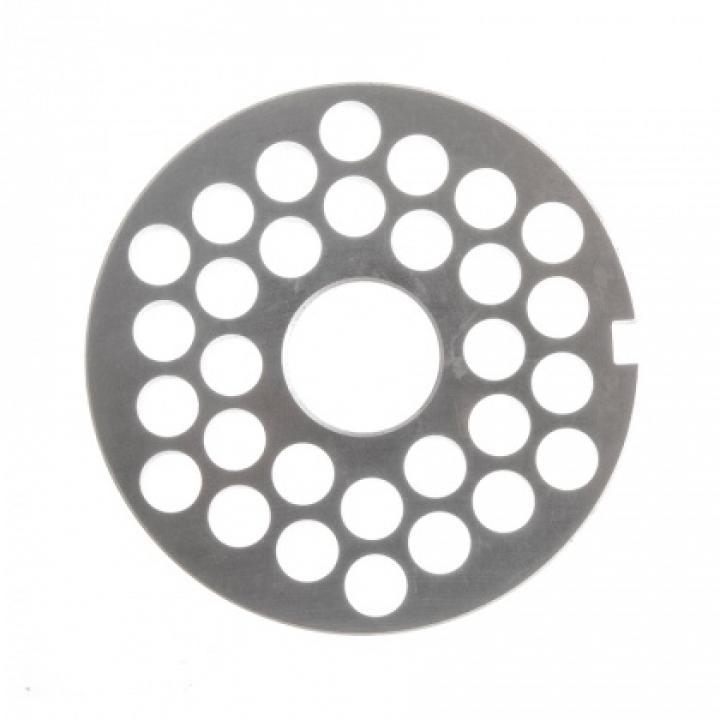 Решетка № 3 (Ø 9 мм) под бурт для мясорубок МИМ-300 / 300М / 350