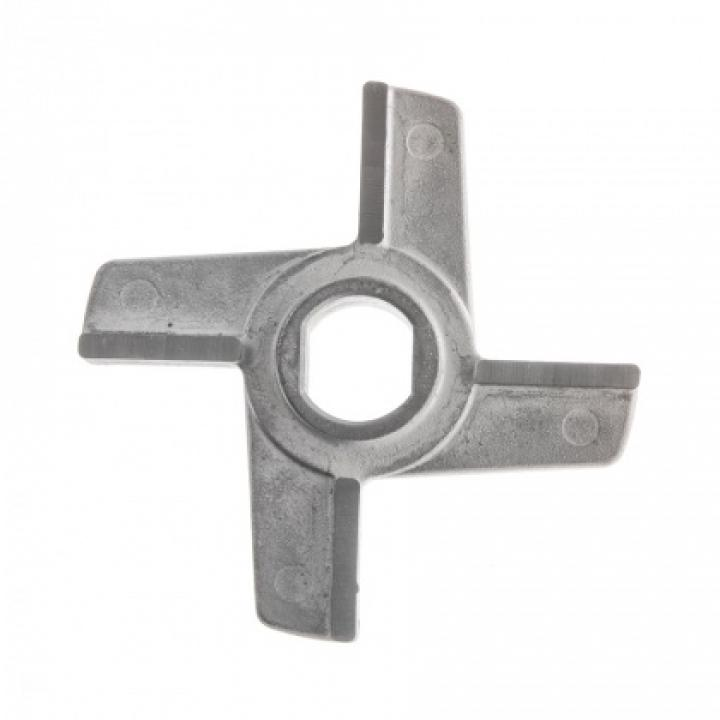 Нож двусторонний с буртом для мясорубок МИМ-300 / 300М / 350