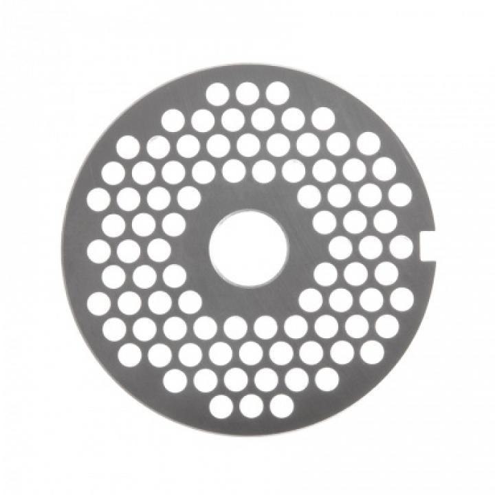 Решетка № 2 (Ø 5 мм) без бурта для мясорубок МИМ-300 / 300М / 350