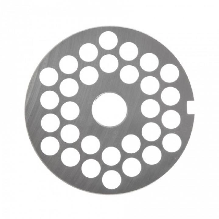 Решетка № 3 (Ø 9 мм) под бурт для мясорубок МИМ-600 / 600М