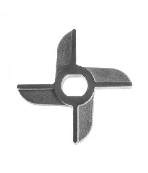 Нож двусторонний без бурта для мясорубок МИМ-300 / 300М / 350 НН