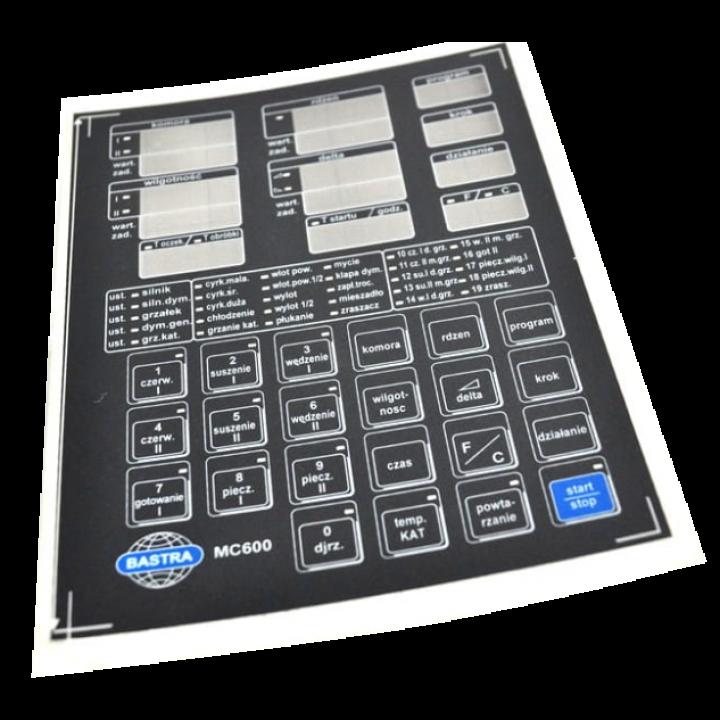 Пленка контроллера MC 600 400-F146 для коптильной камеры Bastra
