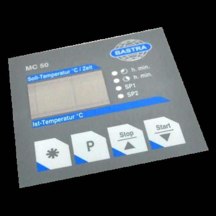 Пленка контроллера MC 50 400-F153 для коптильной камеры Bastra