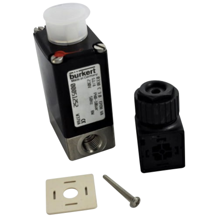 Клапан магнитный двухходовой 400-V147 для коптильной камеры Bastra