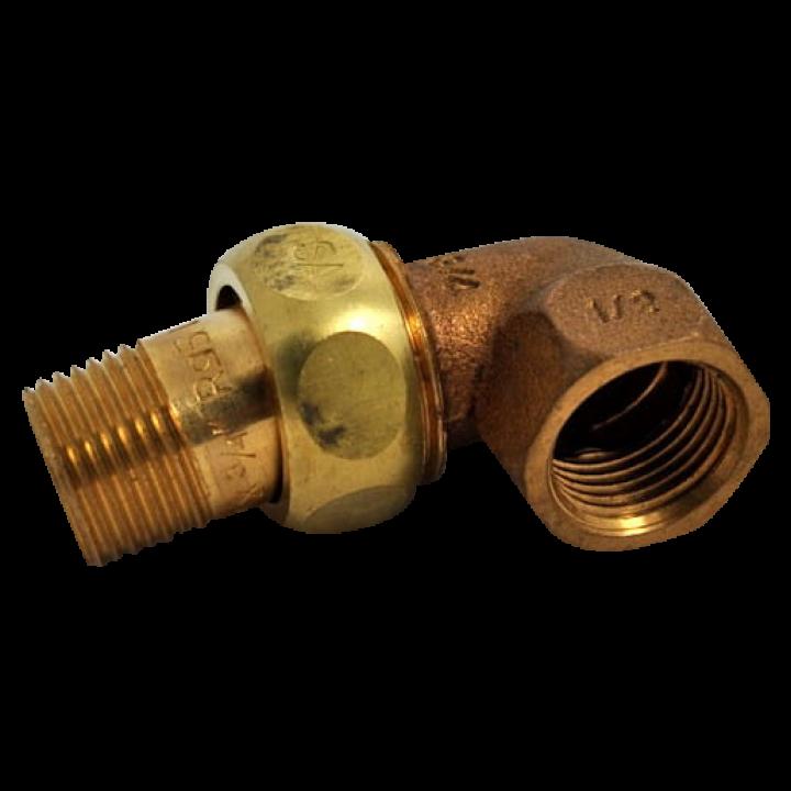 Угловой штуцер 400-W88 для коптильной камеры Bastra