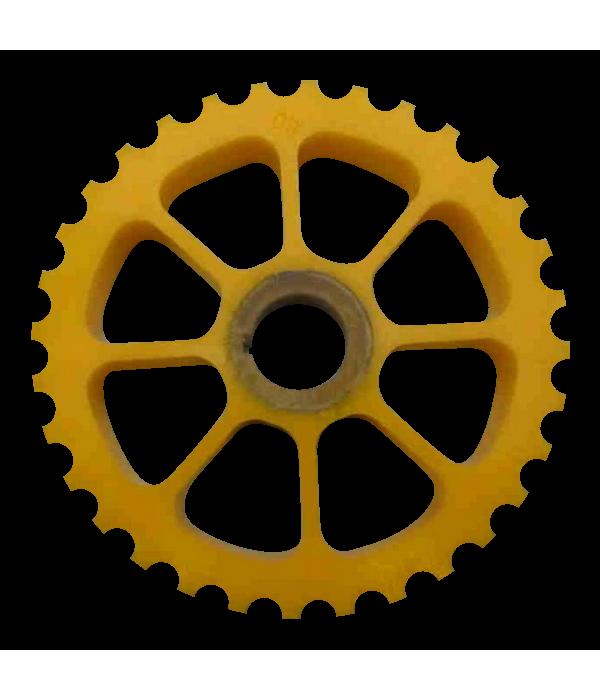 Колесо прижимное 910-106-002 для шкуросъемок Maja