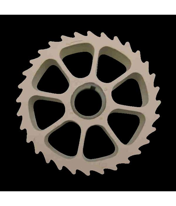 Колесо прижимное 910-590 для шкуросъемок Maja