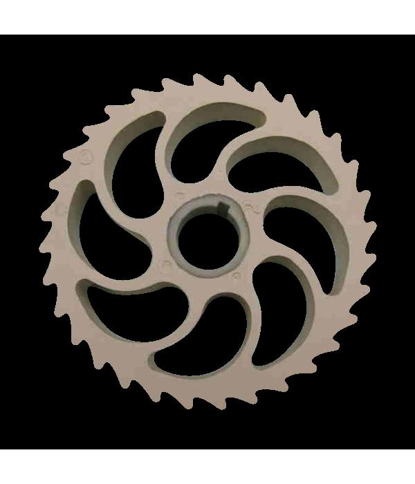 Колесо прижимное 910-595 для шкуросъемок Maja