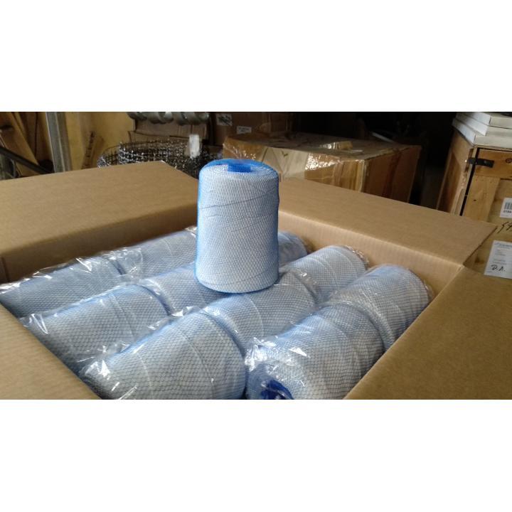 Нитки эластичные 1800 белые (870 м) для обвязочных машин Siebeck