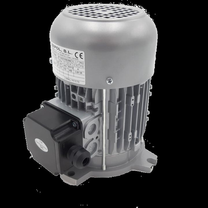 Электродвигатель трехфазный 0055 для шприцов Talsa H15 / 20 / 26 / 31 / 52