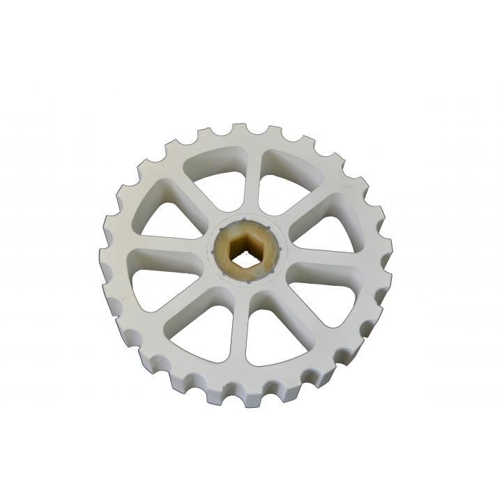 Колесо прижимное Weber (Оригинал), d=198/23 мм, h=39 мм