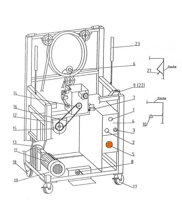 Выключатель PI-025/1 272001 для обвязочной машины Wiegand Rollmatic