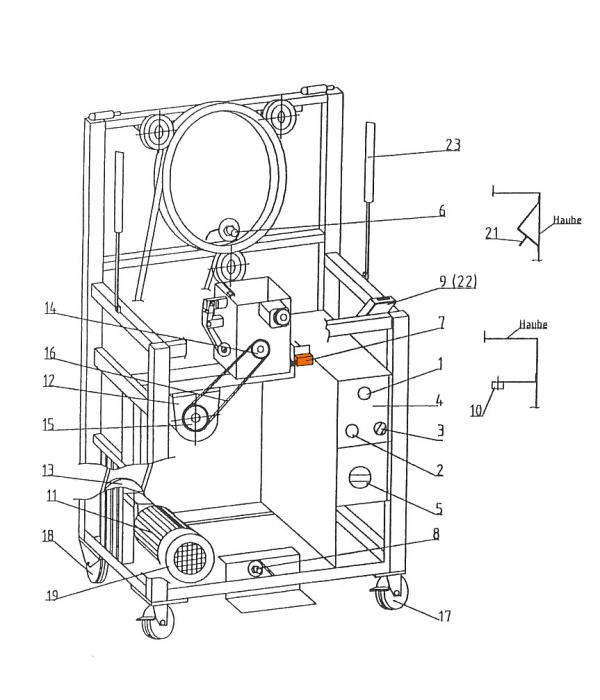 Концевой выключатель 272004 для обвязочной машины Wiegand Rollmatic