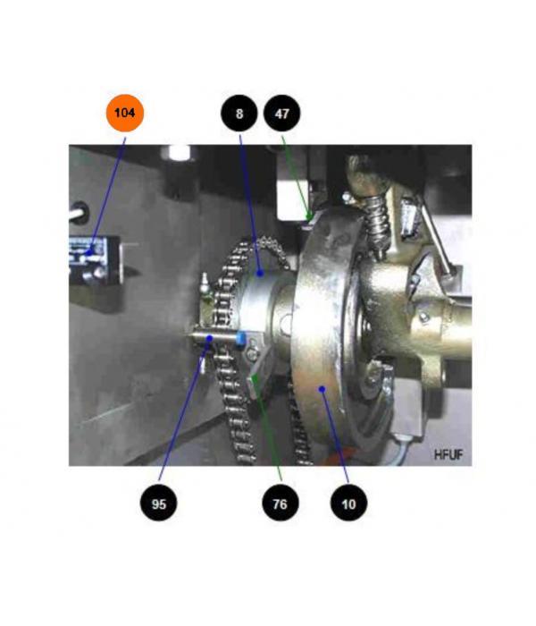 Магнитный датчик 272015 для петлевателя Wiegand Hangfix